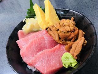 築地の海鮮丼の写真・画像素材[1501047]
