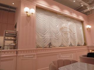 韓国旅行で行ったピンクプールカフェの写真・画像素材[1403287]