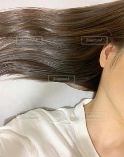髪の毛の写真・画像素材[3527381]