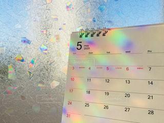 5月のカレンダーの写真・画像素材[3189364]