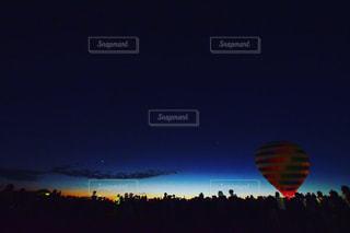 熱気球の写真・画像素材[1519501]