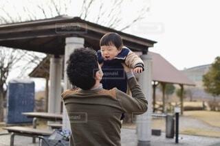父と子の写真・画像素材[4194014]