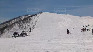 雪山の写真・画像素材[1406366]