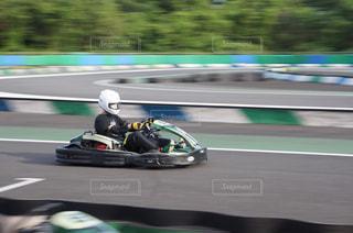 レーシングカートの写真・画像素材[1405545]