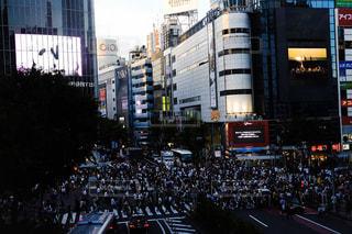 渋谷スクランブル交差点の写真・画像素材[1413507]