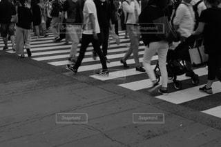 渋谷スクランブル交差点の写真・画像素材[1413510]