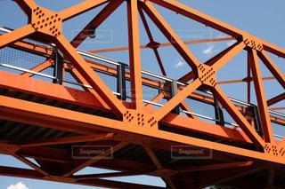 赤い橋の写真・画像素材[1440279]