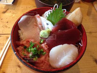海鮮丼の写真・画像素材[1407063]