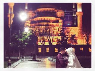 神聖な場所で愛を誓うの写真・画像素材[1412346]