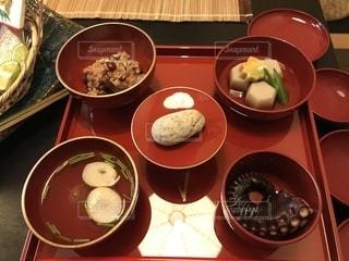 関西のお食い初めの写真・画像素材[1407948]