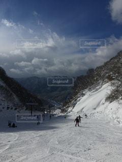スキー場の写真・画像素材[1427393]
