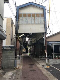 商店街入口ですの写真・画像素材[1410017]