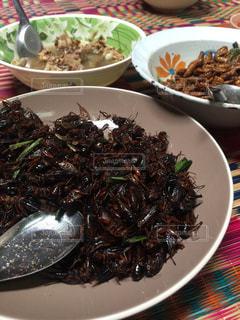 タイの田舎の昼ご飯の写真・画像素材[1546392]