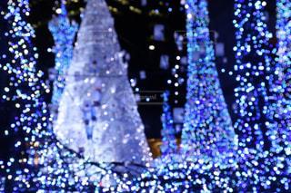 クリスマスイルミネーションの写真・画像素材[1693350]