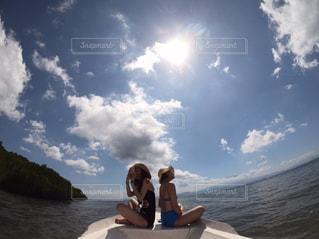 青い空と海の写真・画像素材[2235626]