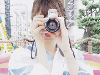 ファインダー越しの私の世界の写真・画像素材[2380614]