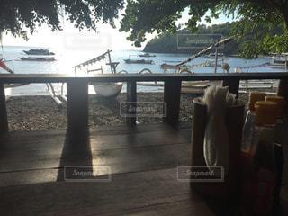 朝カフェの写真・画像素材[1412074]