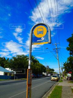 Bus stop 🚌の写真・画像素材[1412878]