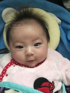 赤ちゃん 笑顔の写真・画像素材[1412386]