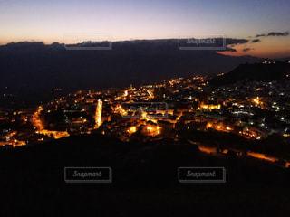 シャウエンの夜景の写真・画像素材[1173206]