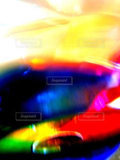 虹色の空間の写真・画像素材[1415537]