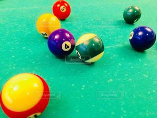 ビリヤードのボールの写真・画像素材[1418371]