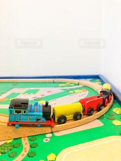 木製の汽車の写真・画像素材[1418271]