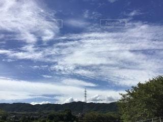 空には雲のグループの写真・画像素材[1448026]
