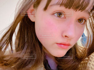 赤ら顔の写真・画像素材[3034594]