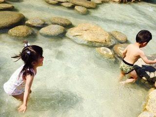 子どものいる風景の写真・画像素材[45569]