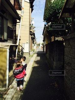 子どものいる風景の写真・画像素材[45571]