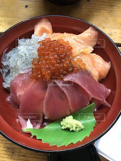 海鮮丼の写真・画像素材[1420612]