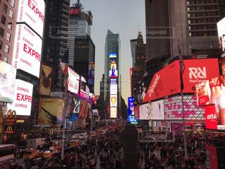 Times Squareの写真・画像素材[1421261]