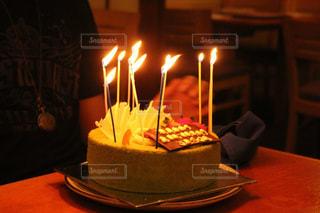 バースデーケーキの写真・画像素材[1423896]