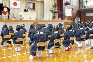 小学校の入学式の写真・画像素材[1422863]