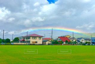 虹の架け橋の写真・画像素材[1423012]