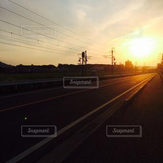 バイトへの道の写真・画像素材[1428840]