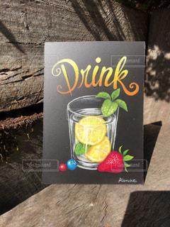 チョークアート 〜Drink〜の写真・画像素材[1424557]