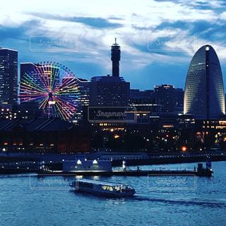 横浜大桟橋からの写真・画像素材[1425451]