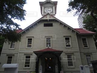 札幌時計台の写真・画像素材[1427709]
