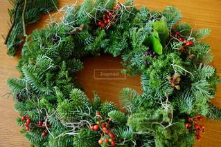 クリスマスリース2の写真・画像素材[1441638]