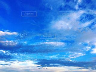 青空と雲の写真・画像素材[1428924]