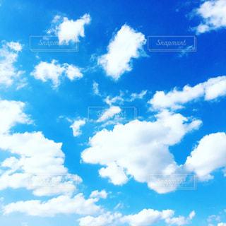 空には雲のグループの写真・画像素材[1627944]