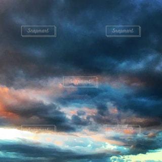 空の雲の写真・画像素材[1691385]