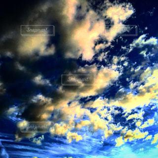 青い空の写真・画像素材[1691398]