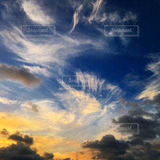 空の雲の写真・画像素材[1691406]