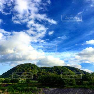 山と空の写真・画像素材[1694373]