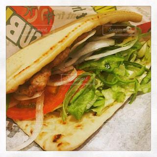 サブウェイのサンドイッチの写真・画像素材[1829245]