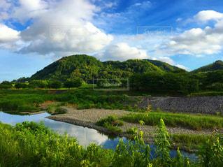 山と川の写真・画像素材[2147868]