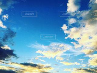 夕焼け空の写真・画像素材[2334445]